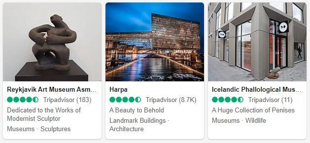 Reykjavik Attractions 2