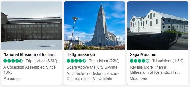 Reykjavik Attractions