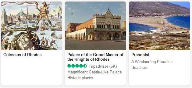 Rhodes Attractions
