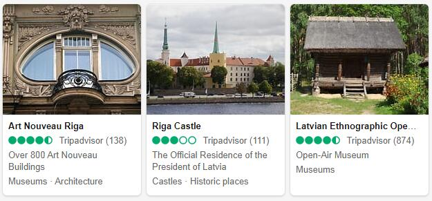 Riga Attractions 2