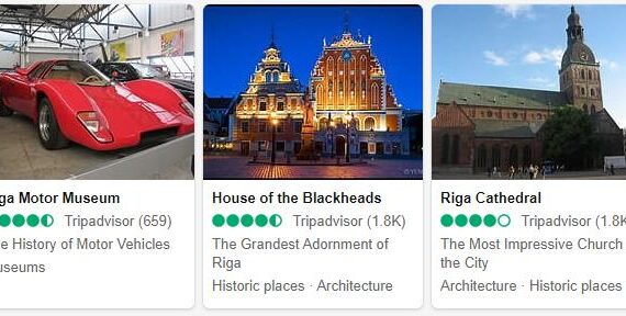 Riga Attractions