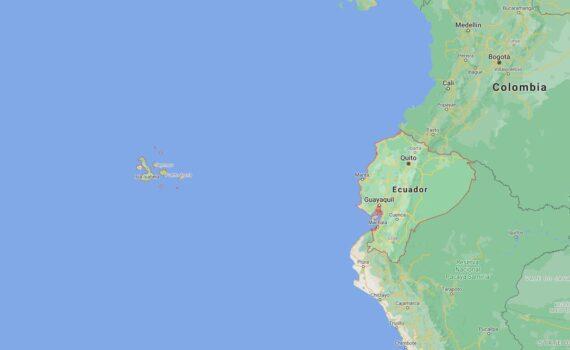 Ecuador Border Countries Map